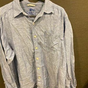 Tommy Bahama Linen Shirt - Size XL